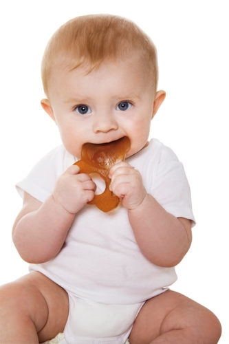 HEVEA PANDA TEETHER  Žaisliukas palengvinantis dantų prasikalimą iš natūralaus kaučiuko
