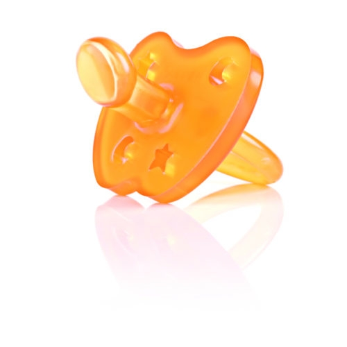 HEVEA ORTHODONTIC PACIFIER (Star & Moon)