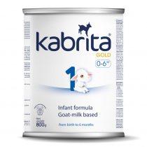 Kabrita® 1 GOLD NEW Mākslīgais piena maisījums uz kazas piena bāzes (0-6m) 800 g