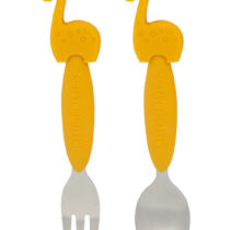 Marcus & Marcus Spoon and Fork Set Lola the Giraffe