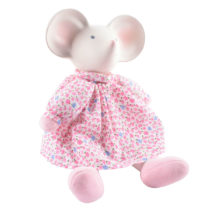 Tikiri Toys Meiya in floral pink dress