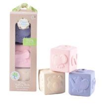 Tikiri Toys Meiya & Alvin Rubber Cube Set of Three