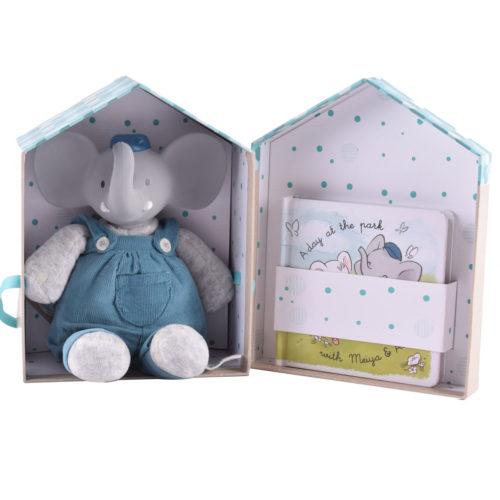 Tikiri Toys Alvin Deluxe toy with book in box
