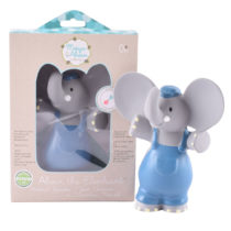 Tikiri Toys Alvin the Elephant all rubber squeaker