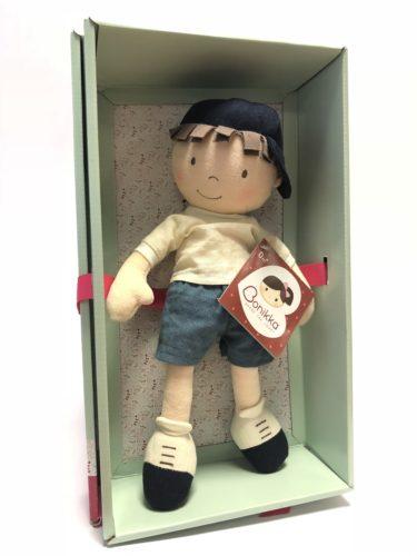 Tikiri Toys Jasper Boy Doll WITH MD SHOE BOX