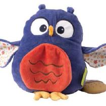 Tikiri Toys Owl activity toy with toadstool teather