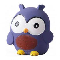 Tikiri Toys Owl rubber squeaker