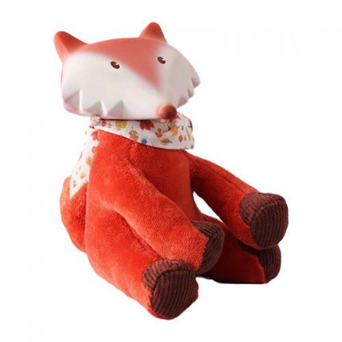 Tikiri Toys Fox toy with rubber head