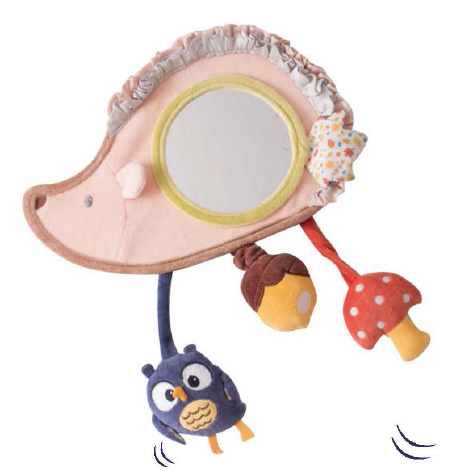 Tikiri Toys Hedgehog Activity Mirror