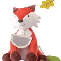 Tikiri Toys Fox activity toy with acorn teether