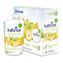 Kabrita® Fruits puree Fruit Smoothie with full goat milk cream