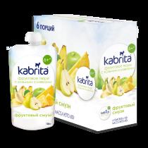 Kabrita® Фруктовое пюре Фруктовый Смузи со сливками козьего молока 100 г x 6