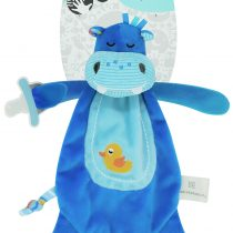 Marcus & Marcus Baby Security Blanket Lucas the Hippo