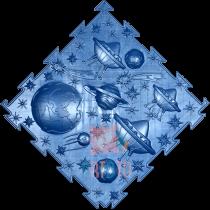 ORTODON Kosmoss Lidojošie šķīvīši