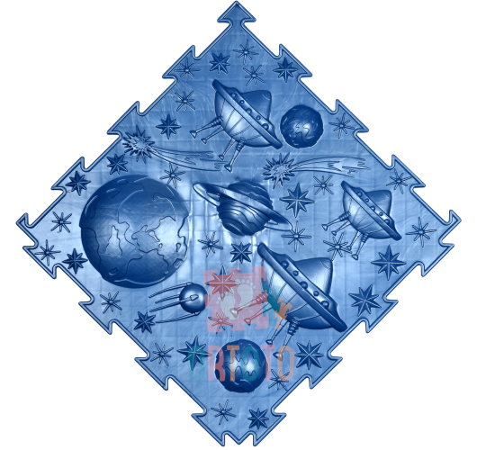ORTODON Kosmosas Skraidančios Lėkštės