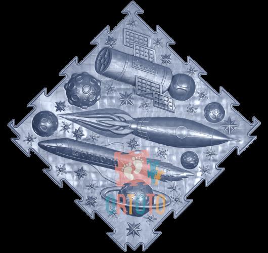 ORTODON Kosmosas Kosminis Laivas