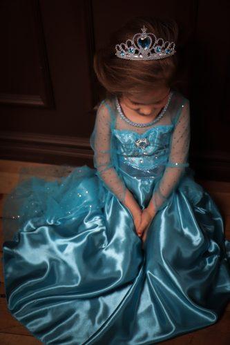 Princesės Elsa suknelė