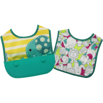 Marcus & Marcus Travel bib (Set of 2 Bibs) – Ollie