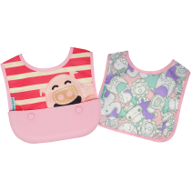 Marcus & Marcus Travel bib (Set of 2 Bibs) – Pokey