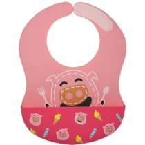 Marcus & Marcus  Wide Coverage Silicone Bib – Pokey
