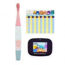 Marcus & Marcus Kids Interactive Sonic Silicone Toothbrush Set – Pokey