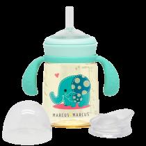 Marcus & Marcus PPSU Pudelīte mazuļiem dzeršanas iemaņu attīstīšanai – Ollie